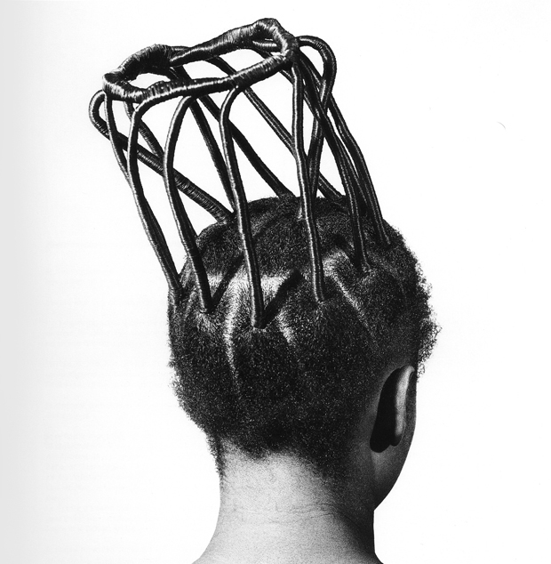 Artistic Hairstyles of Nigerian Women Photographed by J.D. Okhai Ojeikere