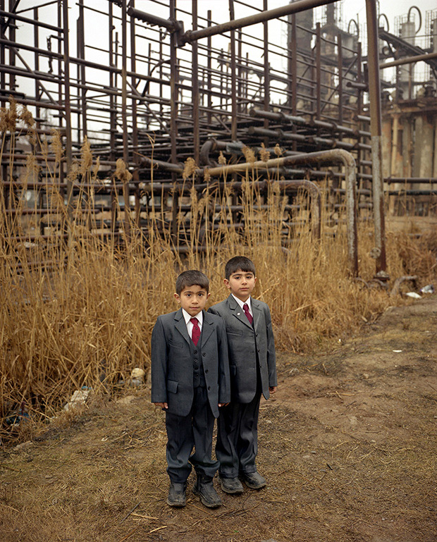 Otherworldly Photos of Azerbaijan Reveal Daily Life in a Haunted Wasteland
