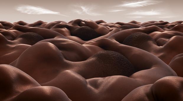 Beautiful Terrain: An Original Take on the Nude Portrait by Carl Warner