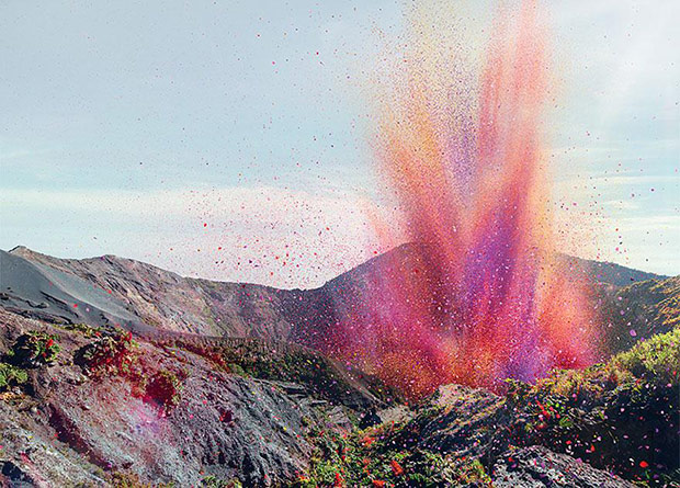 8 Million Flower Petals Shower a Costa Rican Village in a Cascade of Color