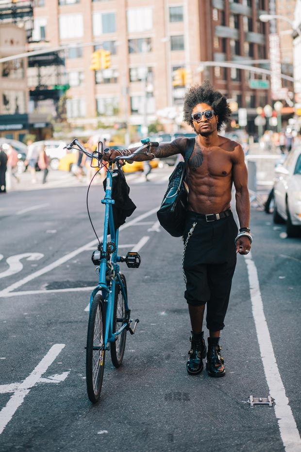 Portraits Of Hip New Yorkers With Their Bikes Feature Shoot
