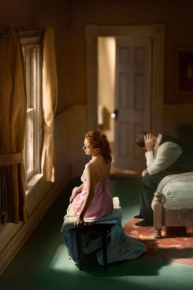 Hopper Meditations Photos of Intimate Bedroom Scenes Inspired by