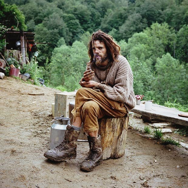 Fascinating Portraits of Europeans Who Have Abandoned Civilization for the Wilderness