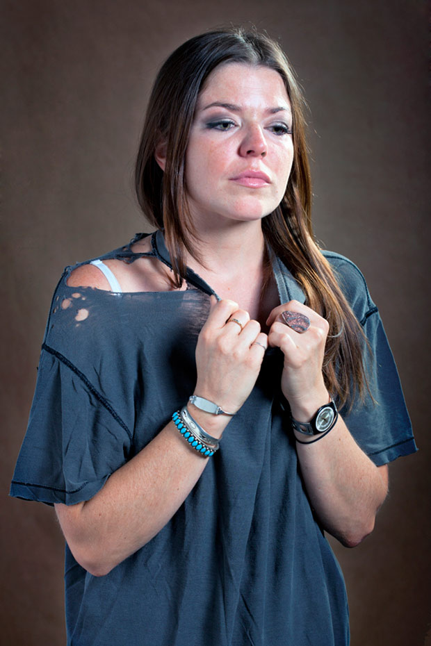 What Remains: Portraits of Women Wearing Their Ex-Lovers Shirts