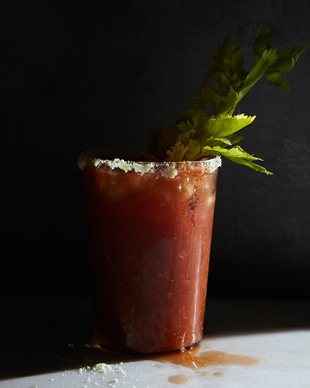 Cocktail Hour: Bloody Mary with Salt - Feature Shoot