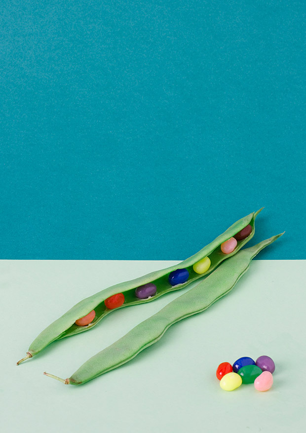 Sweet Veggies: Jelly Beans in a Pod and Other Strange Treats