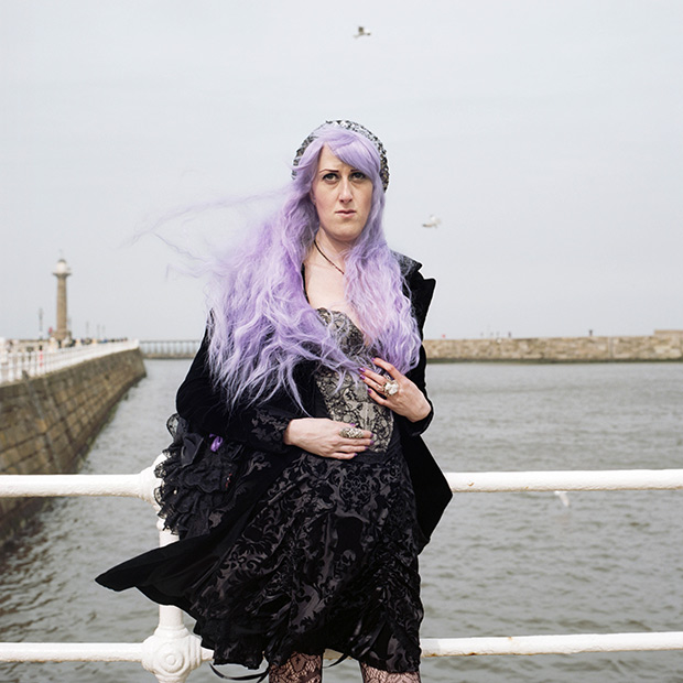 Bewitching Portraits From Whitby Goth Weekend in North Yorkshire