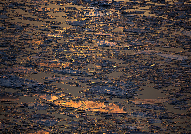 Wild, Abstract Landscapes Capture the Majesty of the Hudson River