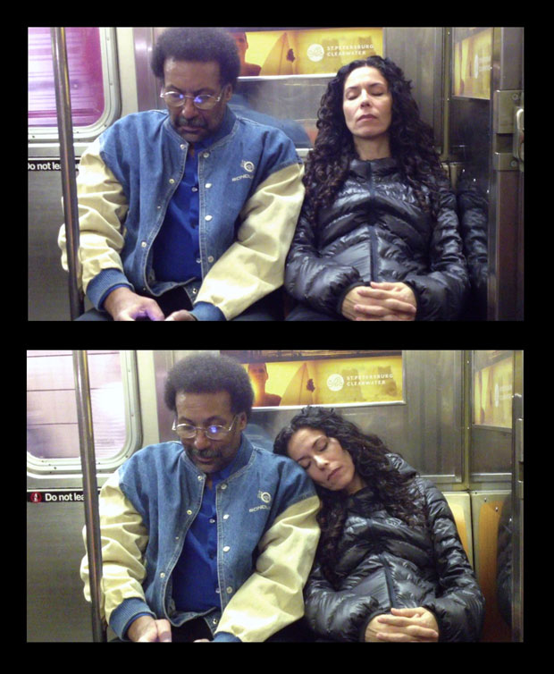 It Felt Like I Knew You: Subway Commuters React to a Stranger Invading Their Space