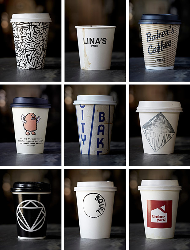 Photo Du Jour A Collection Of Coffee Cups From Around The