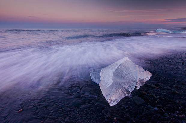 Ethereal Photos of Ice in Iceland