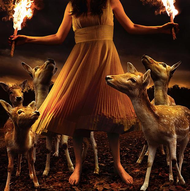 Enchanting Photos Portray a Fantasyland of Children and Wild Animals