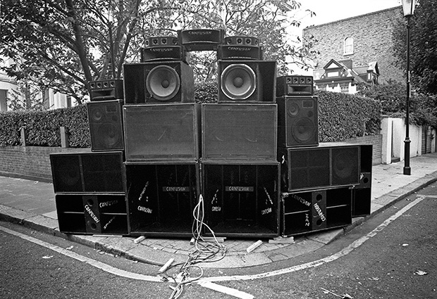 Heavy Metal: Photos of the Notting Hill Carnival Sound Systems