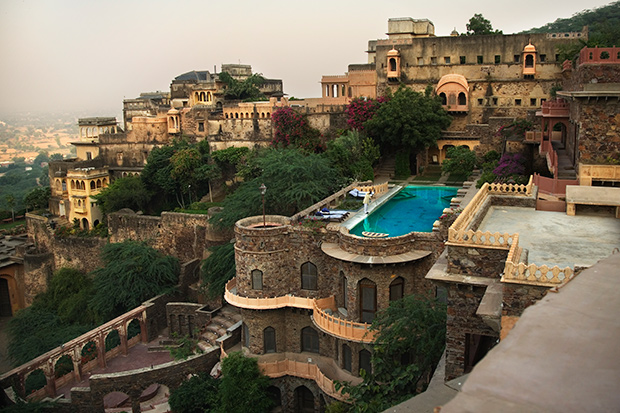 A Rooftop Pool in India