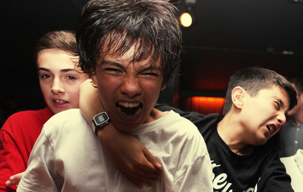 Photographer Takes Us Inside a Teenage Mosh Pit
