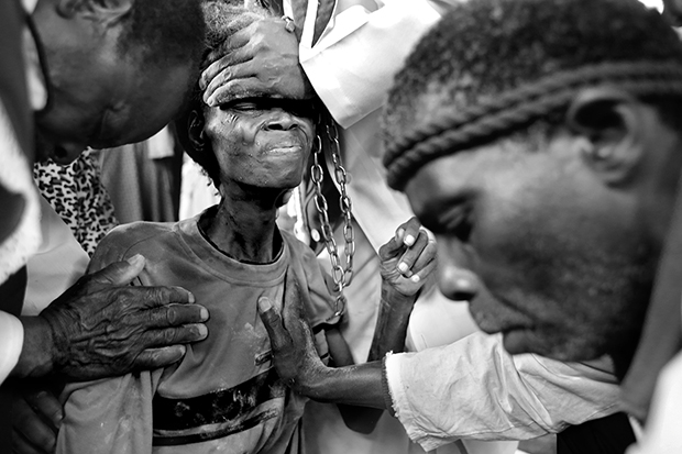 Dark, Unflinching Photos of Zionist Exorcisms and Healings in Swaziland