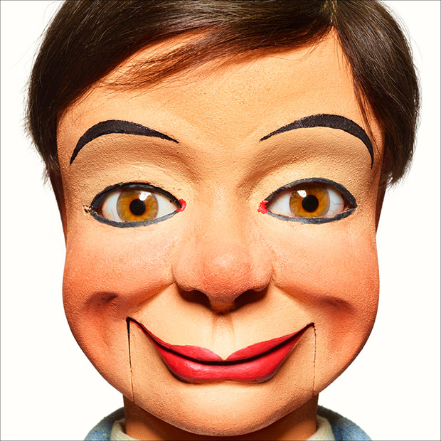 Almost Human: Lifelike Portraits of Antique Ventriloquist Dummies