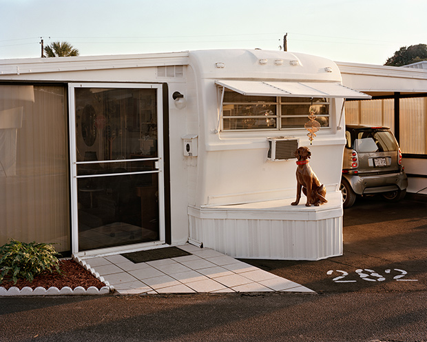 Photos Of A Florida Trailer Park Home To Retired Couples From