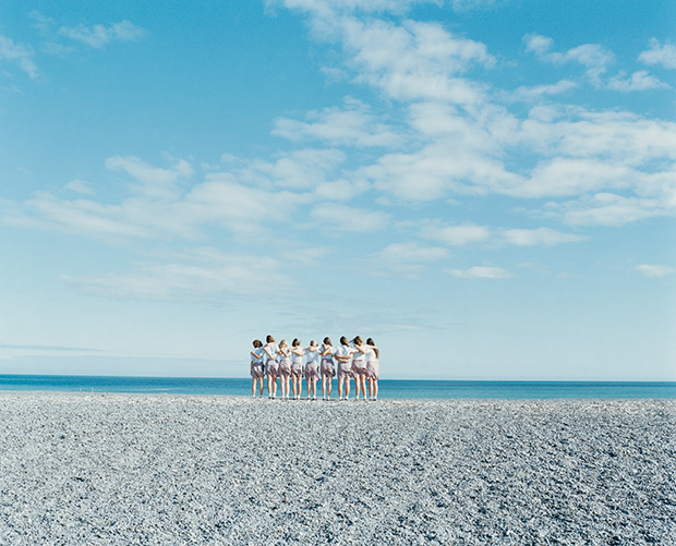 Japanese Photographer Creates Surreal Scenes of Anonymous Girls