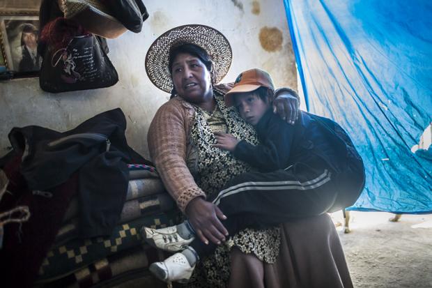"""Kindheit auf dem """"Cerro Rico"""" in Potosi Bolivia"""