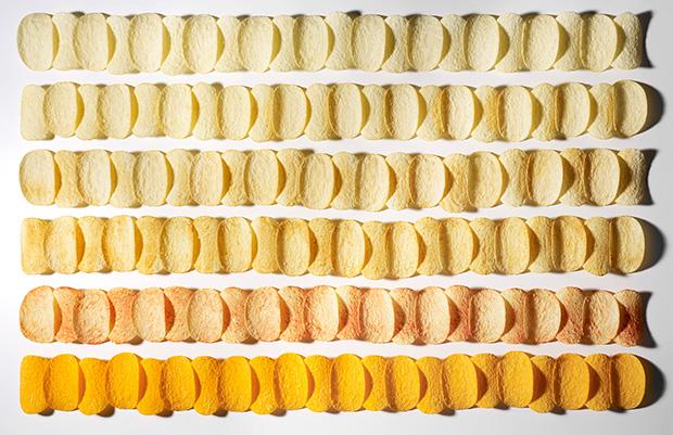 Photo du Jour: Pringles Organized Neatly