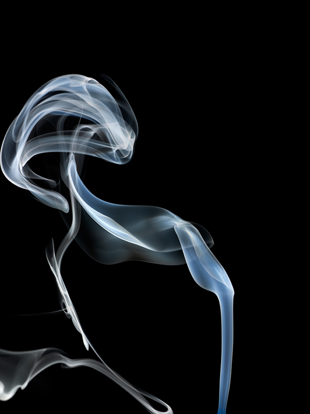 Ethereal Swirls of Smoke Photographed by Bohman+Sjöstrand Photography