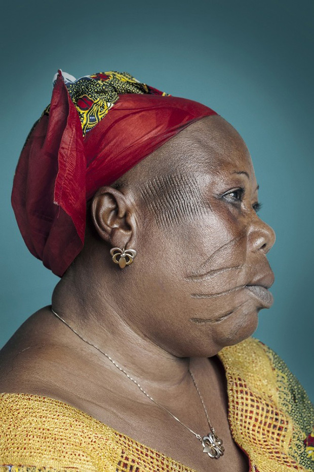 Striking Portraits Capture Africa's Final Generation of Scarification