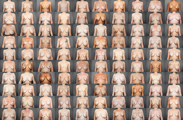 Photo du Jour: 100 Women Bare Their Breasts for 'Bare Reality' (NSFW)