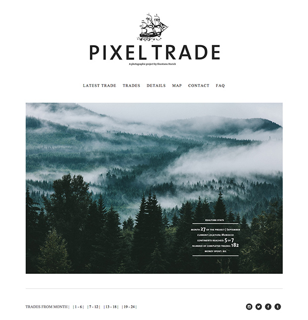 Pixeltrade_homepage