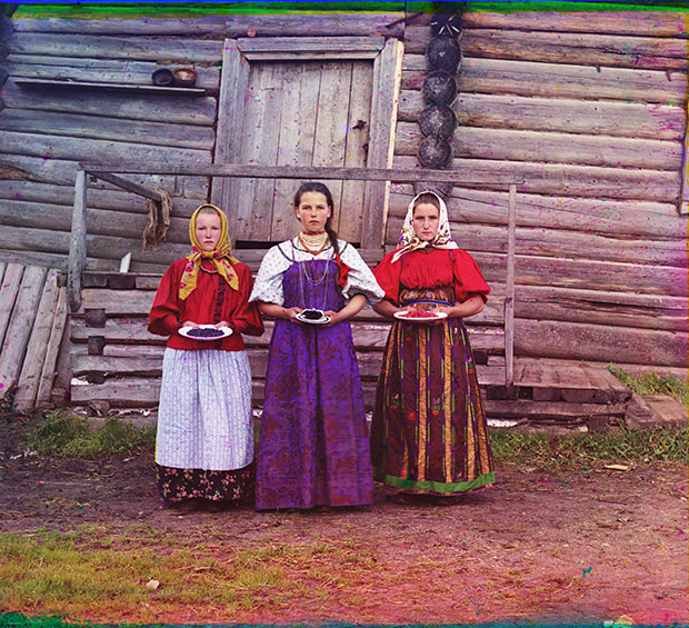 Astonishing Color Photographs of Life in the Russian Empire of Czar Nicholas II