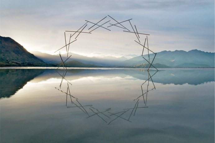 Mesmerizing Environmental Sculptures in Nature by Martin Hill