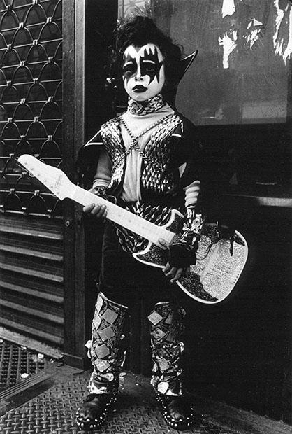 KISS, Halloween Parade, West Village, NY. 1978