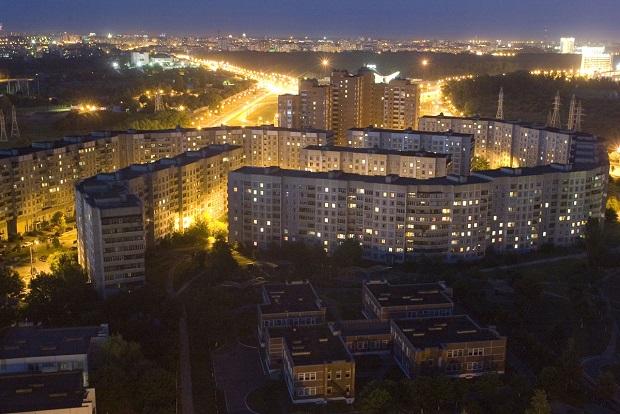 Minsk night view