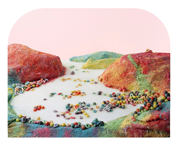 Otherworldly Landscapes Made from Junk Food