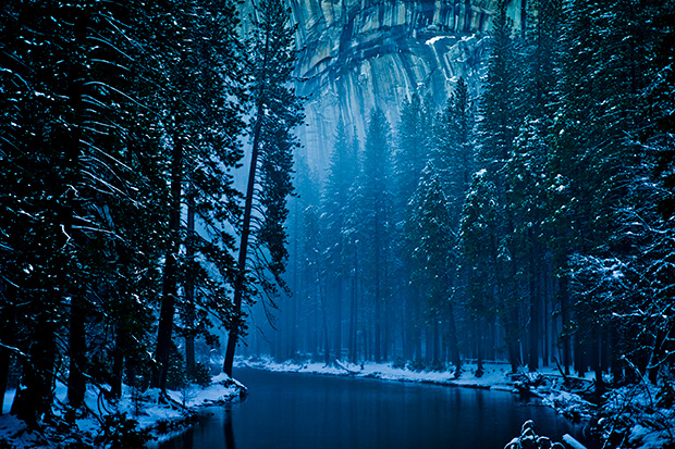 Winter Landscapes Make Yosemite Valley Look Like Narnia