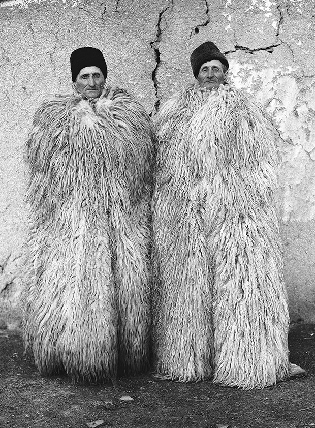 Enchanting Portraits of Identical Twin Farmers in the Hungarian Countryside