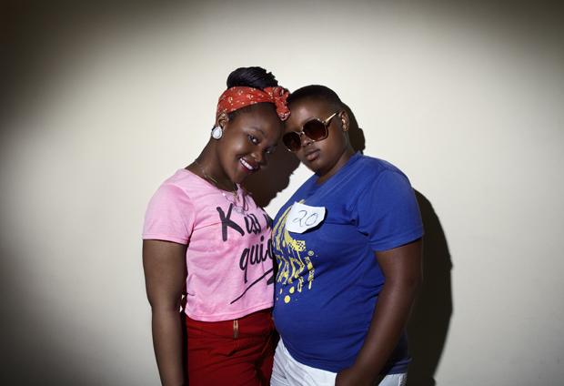 Miss Lesbian 2012 Zintle & Inga