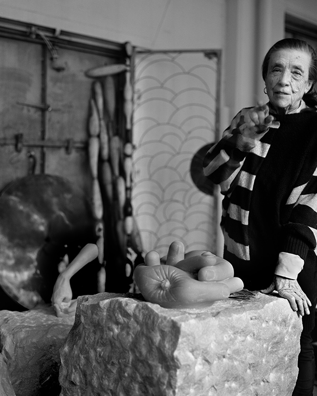 100 portraits of women artists by barbara yoshida feature shoot - Bourgeois foto ...