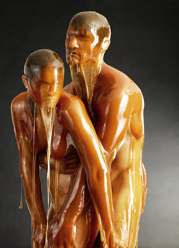 Captivating Portraits of Bodies Encased in Honey (NSFW)