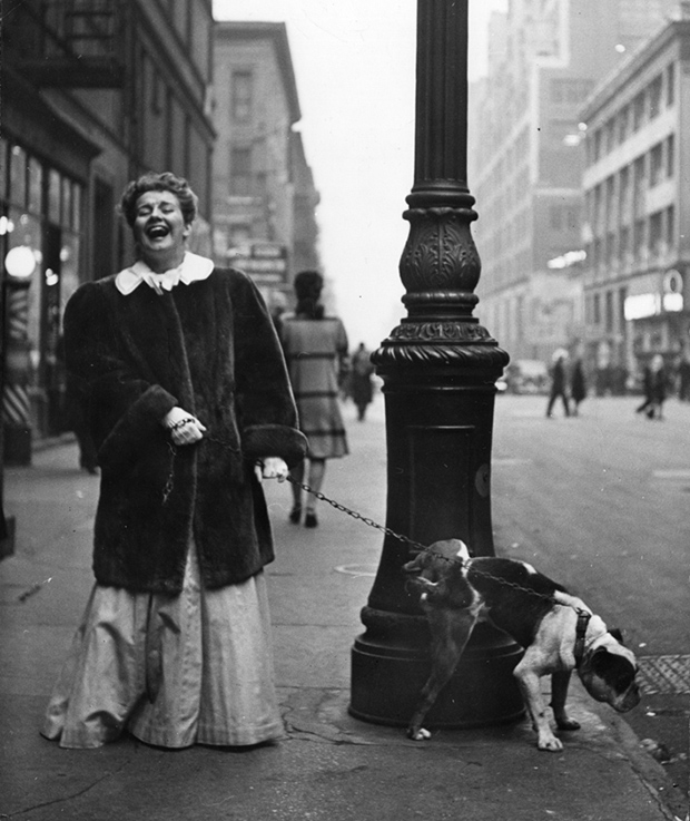 Delightful Photos of 1940s Celebrities Walking Their Dogs in NYC