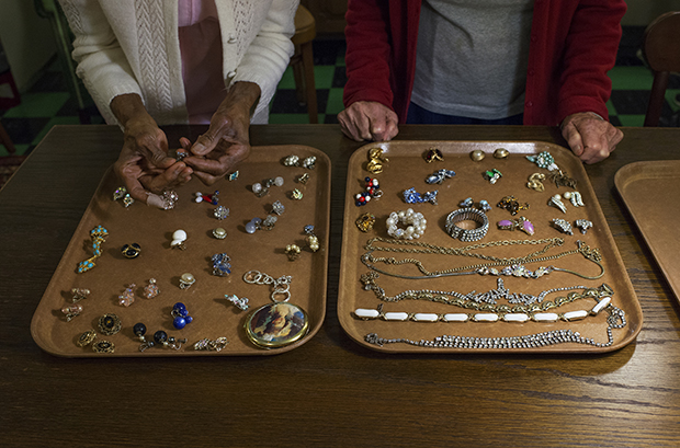 Costume Jewelry for the Banquet.Kristin Bedford