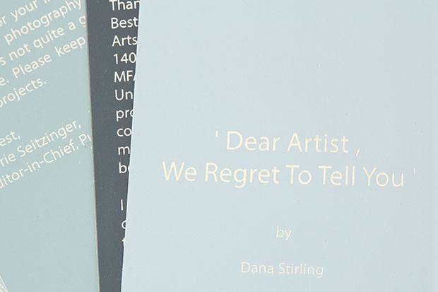 Dear Artists we regret to tell you - 3