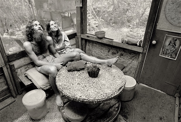 Look at life inside a 1969 hippie tree house village in hawaii nsfw