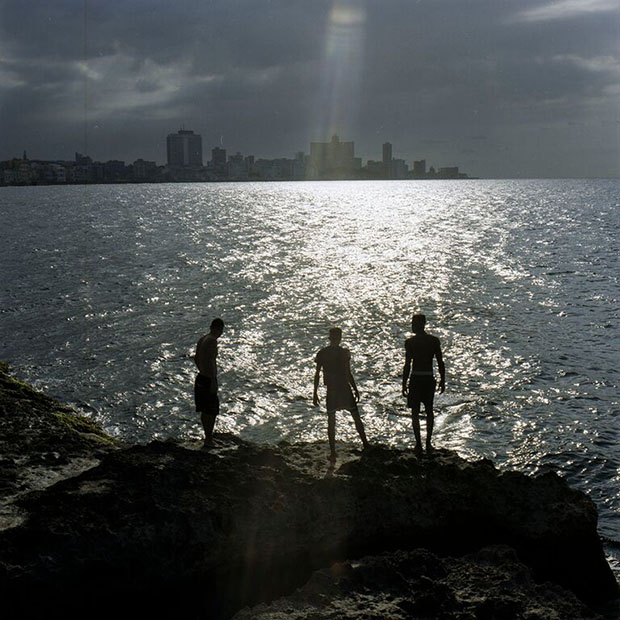 The Malecon is the place where the youth come to imagine the world.