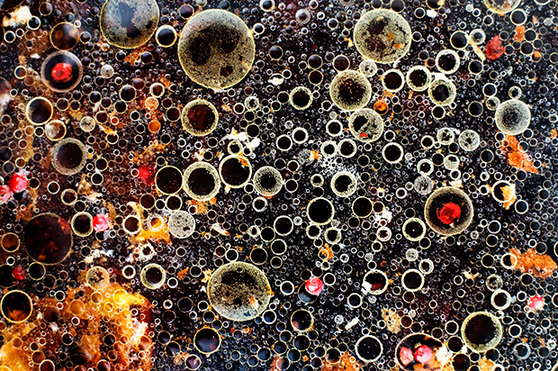 Abstract Photos of the Unexpected Patterns that Arise While Cooking