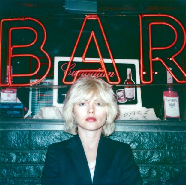 Debbie-outside-a-bar,-New-York-1979
