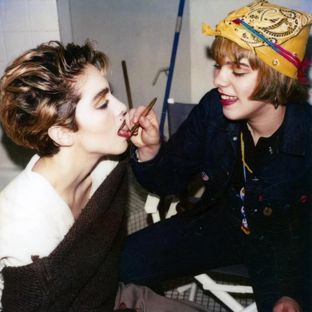 Louise-&-Debi,-New-York-1983