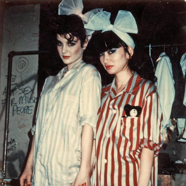 Lovey-&-Chica,-New-York-1981