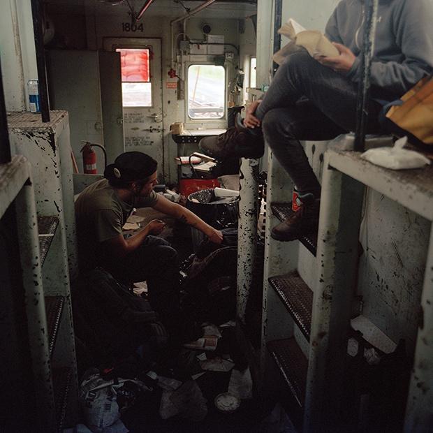 Abandoned-Caboose