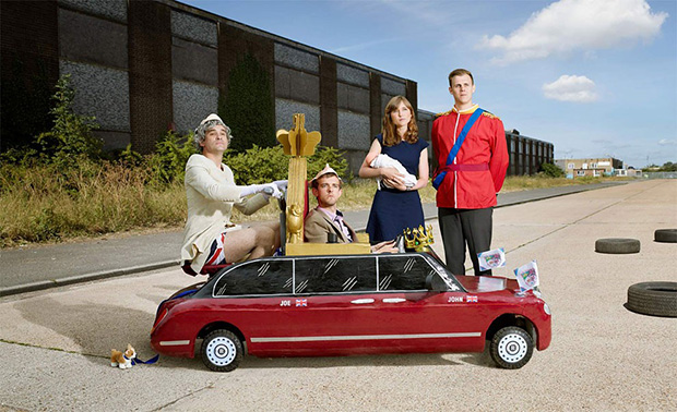 Theatrical Portraits of Soapbox Racers in London